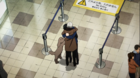 Makkachin and his adorable effort to hug his family!